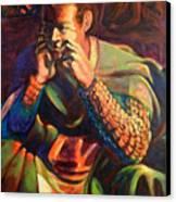 Sir Lancelot Canvas Print by David Matthews