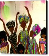 Sisterhood Canvas Print by Angela L Walker