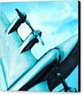 Sky Plane Canvas Print by Slade Roberts