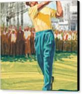 Slam'n Sammy Canvas Print by Harry West