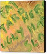 Slap Canvas Print by Helena M Langley