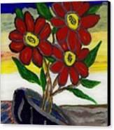 Slipper Flower Canvas Print by Enrico Pischiera