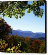 Smoky Mountains Canvas Print by Lena Auxier