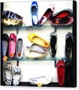 So Many Shoes... Canvas Print by Marilyn Hunt