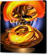 Solar Flare Abstract Canvas Print by Alexander Butler