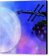 Solar Nexus Canvas Print by Corey Ford