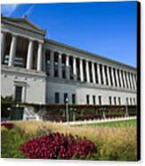 Soldier Field Chicago Bears Stadium Canvas Print by Paul Velgos