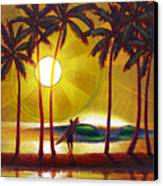 Solitude Canvas Print by Patrick Parker