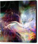 Soul Vibes Canvas Print by Linda Sannuti