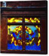 South Street Window Canvas Print by Bill Cannon
