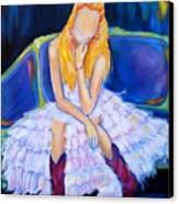 Southern Sass Canvas Print by Debi Starr