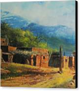 Southwest Village Canvas Print by Robert Carver
