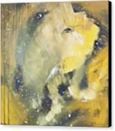 Space Elephant Canvas Print by Kate Maconachie