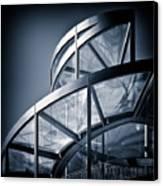 Spiral Staircase Canvas Print by Dave Bowman