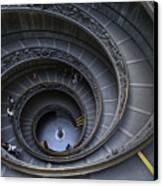 Spiral Staircase Canvas Print by Maico Presente