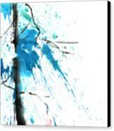 Spirit Of Pine I Canvas Print by Mui-Joo Wee