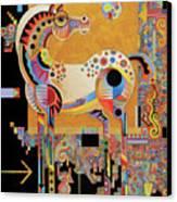 Spirit Stallion Canvas Print by Bob Coonts