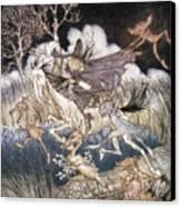 Spirits In Sleepy Hollow Canvas Print by Granger