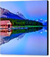 Spiritual Lake Canvas Print by Scott Mahon