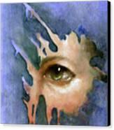 Splash Of Color Canvas Print by Ulysses Albert III