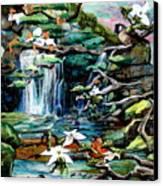 Spring Canvas Print by Kimberly Simon