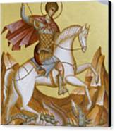 St George Canvas Print by Julia Bridget Hayes
