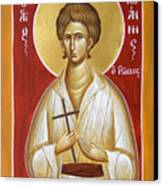 St John The Russian Canvas Print by Julia Bridget Hayes