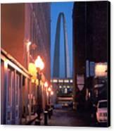 St. Louis Arch Canvas Print by Steve Karol