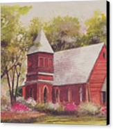 St. Mary's Chapel Canvas Print by Charles Roy Smith