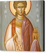 St Stephen II Canvas Print by Julia Bridget Hayes