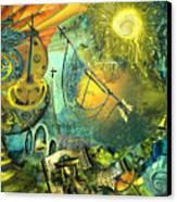 Stairway To Heaven Canvas Print by Anne Weirich