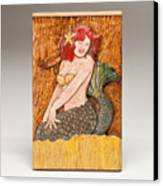 Star Mermaid Canvas Print by James Neill