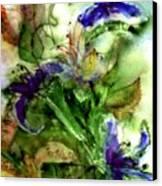 Starflower Canvas Print by Anne Duke