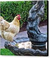 Statuesque Canvas Print by Gwyn Newcombe
