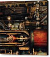 Steampunk - No 8431 Canvas Print by Mike Savad