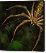 Steampunk - Spider - Arachnia Automata Canvas Print by Mike Savad