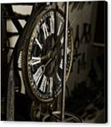 Steampunk - Timekeeper Canvas Print by Paul Ward