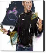 Steve Jobs Canvas Print by Russell Pierce