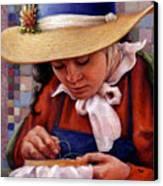 Stitch In Time Canvas Print by Jane Bucci