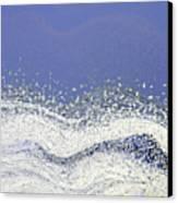 Storm At Sea Canvas Print by Bonnie Bruno