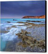 Storm Light Canvas Print by Mike  Dawson