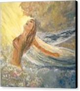 Storm Song Canvas Print by J Bauer
