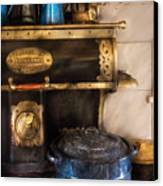 Stove - The Stove Canvas Print by Mike Savad
