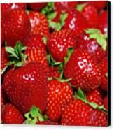 Strawberries Canvas Print by Carlos Caetano