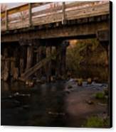 Sugar River Trestle Wisconsin Canvas Print by Steve Gadomski