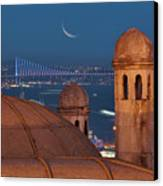 Suleymaniye Canvas Print by Salvator Barki