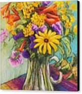 Summer Bouquet Canvas Print by Candy Mayer