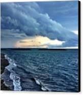 Summer Storm Canvas Print by Extrospection Art
