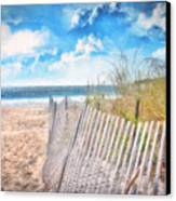 Summer Time Canvas Print by Gina Cormier