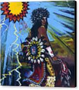 Sun Dancer Canvas Print by Karon Melillo DeVega